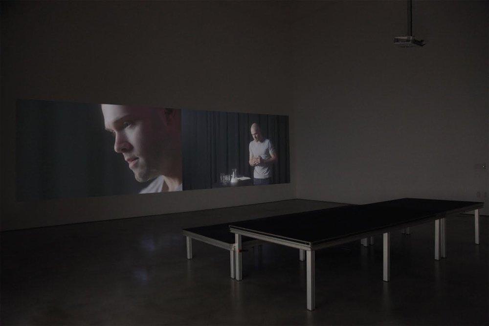 Effecting a Split (excerpt), 2018; video installation