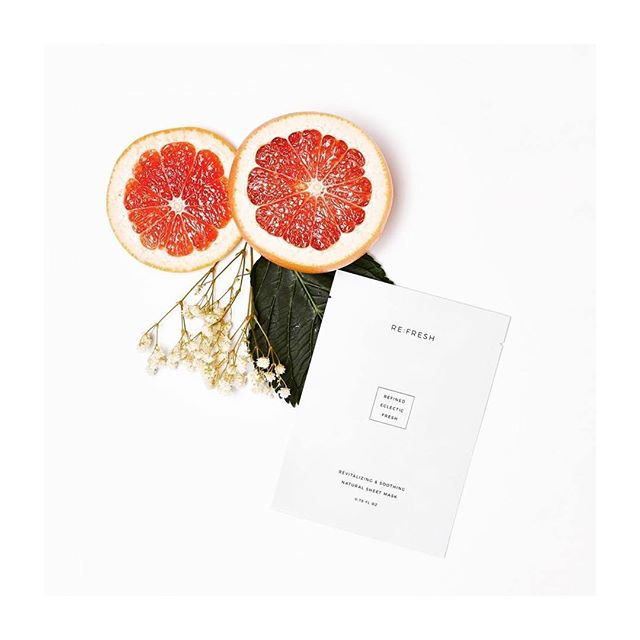 sheet masks are rad. unmatched hydration surge, brightening and tightening effects are just a few reasons why...we love @refresh.official