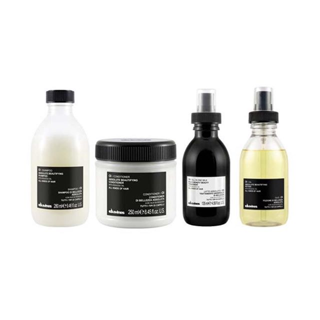 welcome to the family @davinesnorthamerica Oi line. super nourishing and divine smelling potions for your never mediocre locks.
