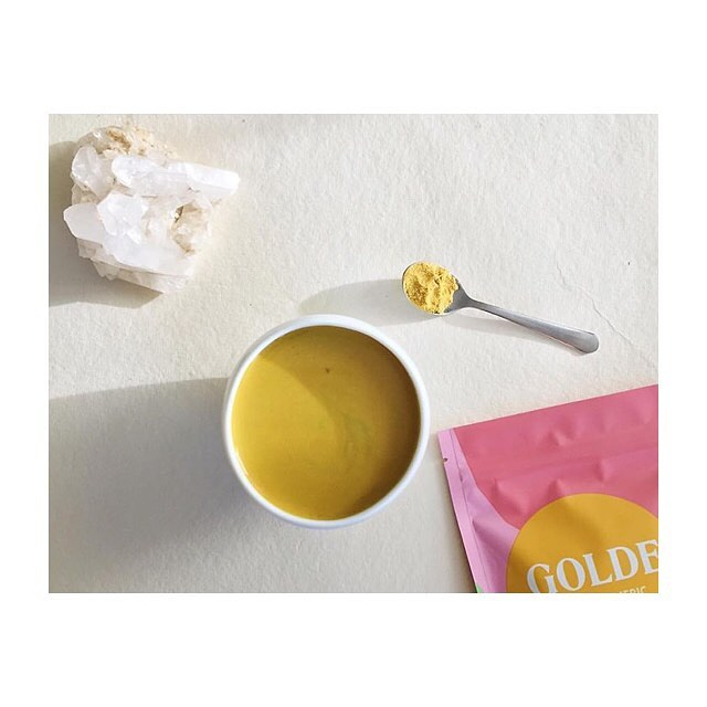 @goldeturmeric is back in house with friends joining soon! the new matcha GOLDE blend will be bringing good clean energy to the shop, while cacao GOLDE is sure to bring an extra dose of bliss- COMING LATE JANUARY. while awaiting these exciting new blends, grab the OG turmeric blend to add to your milk, smoothie, coffee + more!