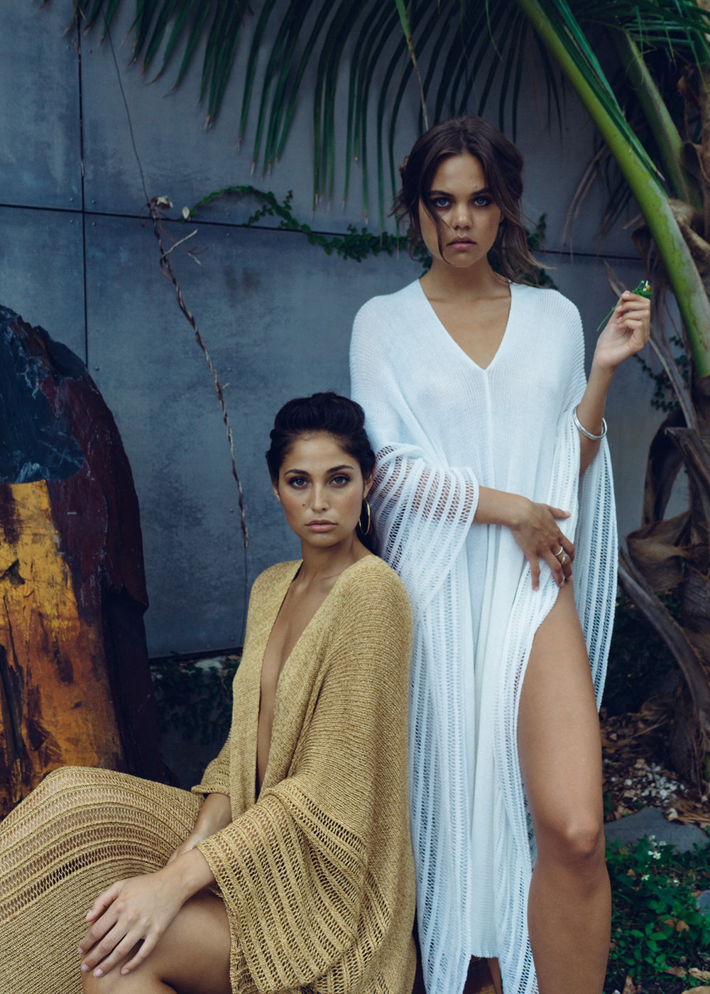 Krel - A fashion studio located in Ironside Miami, Florida. Hand loomed knitted resort wear, jumpers, couture and more.