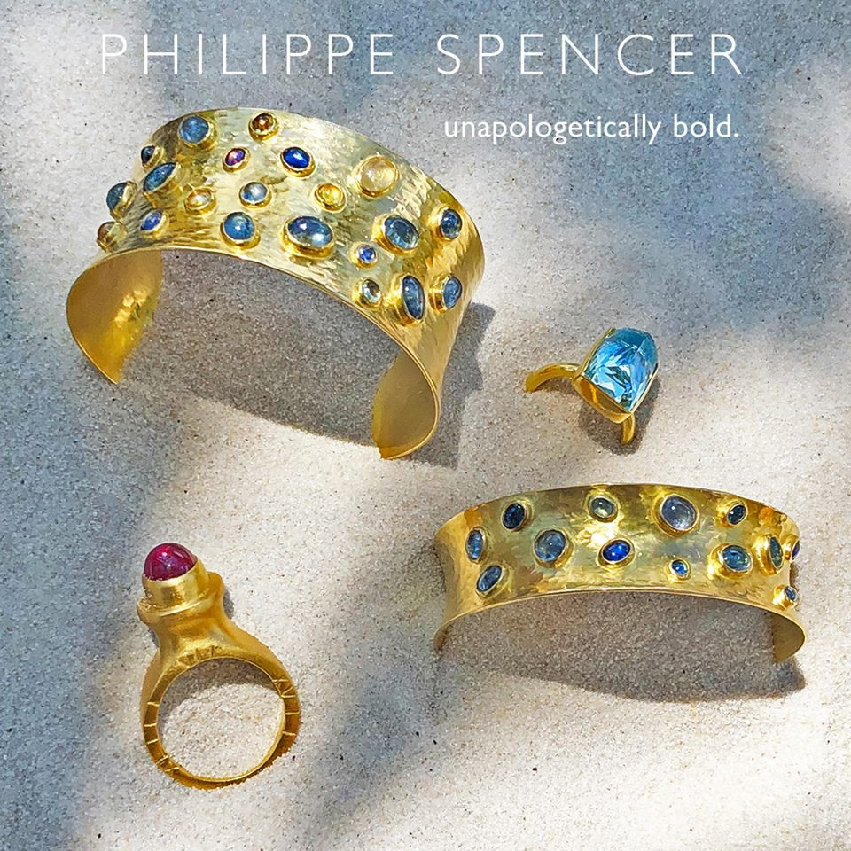 About - Goldsmiths. Artists. And Philippe & Spencer (the Individuals) are the only hands that touch our work before you do. EveryPHILIPPE SPENCERis an Original, One-Of-A-Kind, Hand-Forged work of Art.