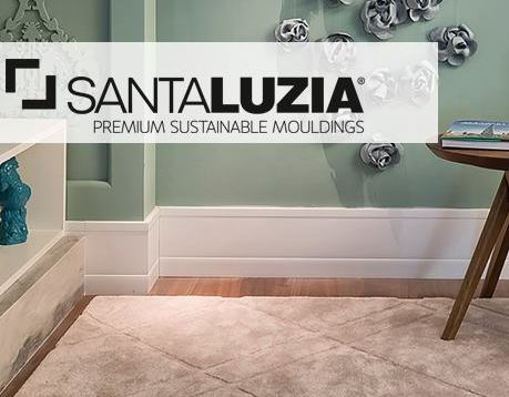 Santa Luzia USA - Traditionally sustainability meant trading off on visual appeal and quality. Santa Luzia successfully brings superior design to sustainable baseboards.