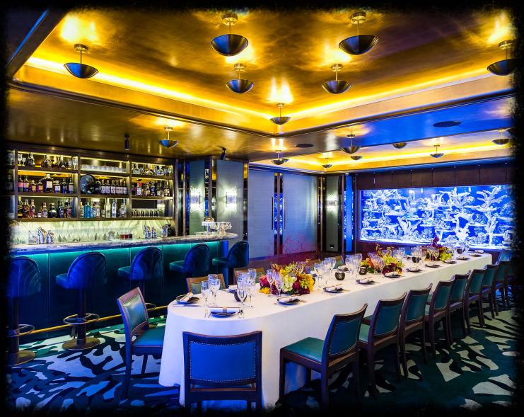 A wildly pretentious London restaurant. (Source: sexyfish.com)