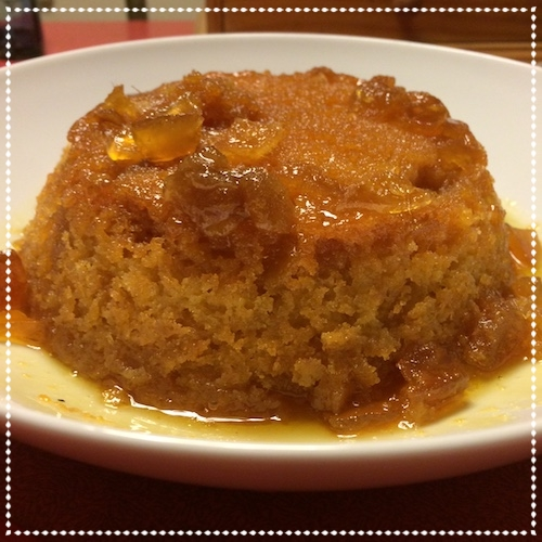 Gluten-Free Ginger and Lemon Pudding - November 2015