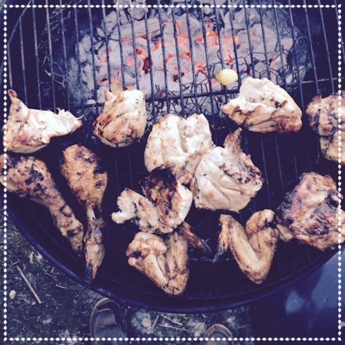 Butter-Basted Barbecue Chicken - June 2015