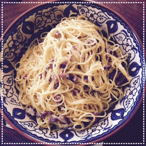 SPAGHETTI CARBONARA: APPROVED by PAOLO TULLIO - June 2015