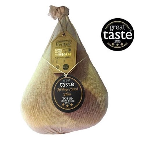 James Whelan heritage Cure Irish Ham - December 2017