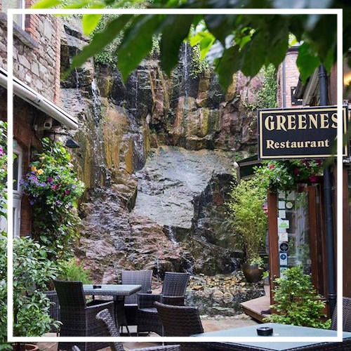 Facebook.com/GreenesRestaurant