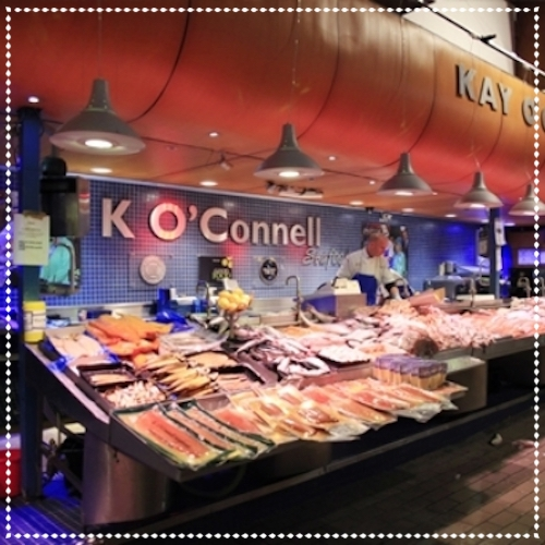 Kay O'Connell Fish-mongers - The English Market