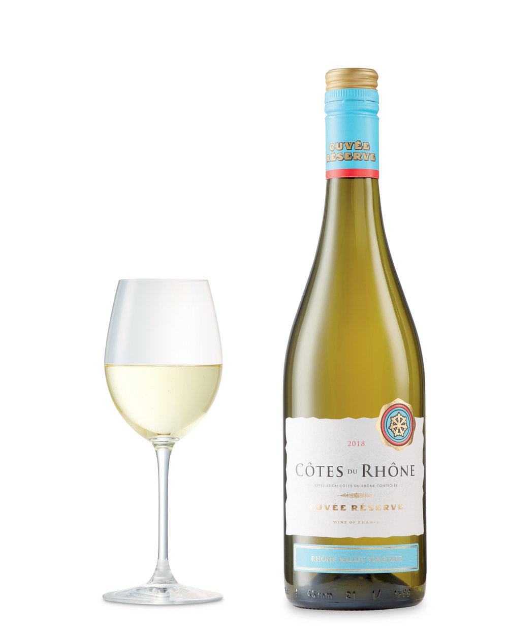 Côtes du Rhône Reserve Blanc 2018