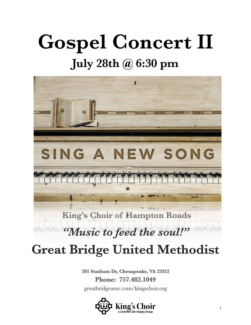 Concerts — King's Choir