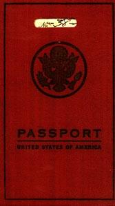 1927 U.S. PASSPORT.