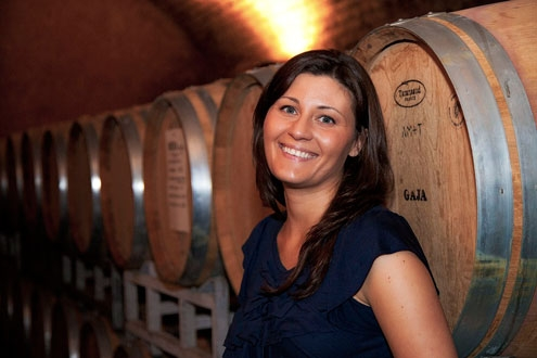 Gaia Gaja of Gaja Vineyards in Italy's Piedmont region.