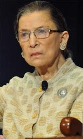 Ruth Bader Ginsburg, 80: Under increasing pressure to step down.