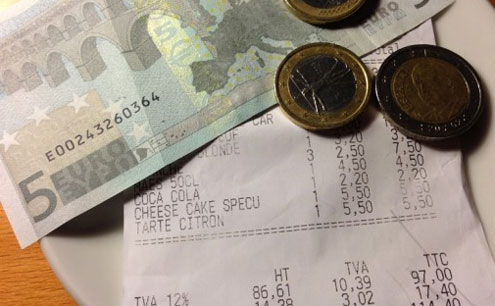 Italians rarely leave more than one or two euro a head as tips, figuring that waiters receive full benefits.