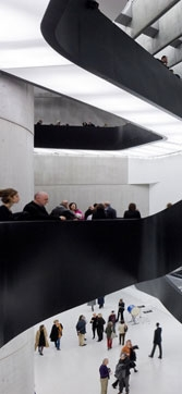 Rome's MAXXI Museum, built before revised seismic codes, has since been retrofitted.
