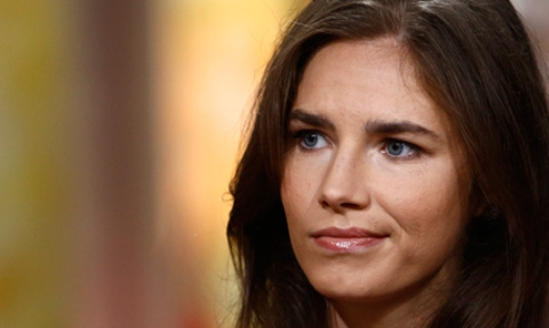 Amanda Knox, now 28, may face extradition if her conviction is upheld.