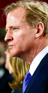 Roger Goodell: The NFL commissioner has been in controversial waters before.