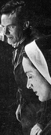 "E.G. Marshall was John Proctor and Beatrice Straight his wife Elizabeth in the Broadway 1953 performance Arthur Miller's ""The Crucible."""