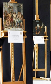 In 2004, masterpieces stolen from a religious complex were discovered in a trailer, headed for private dealers.
