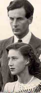 Margaret and RAF officer Peter Townsend: a doomed love affair.