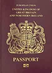 A new British passport is fine, but how do you explain being born in Cincinnati?