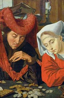 New law, new onus, and some are worried, or mad. DeTaIl from a painting Marinus van Reymerswale