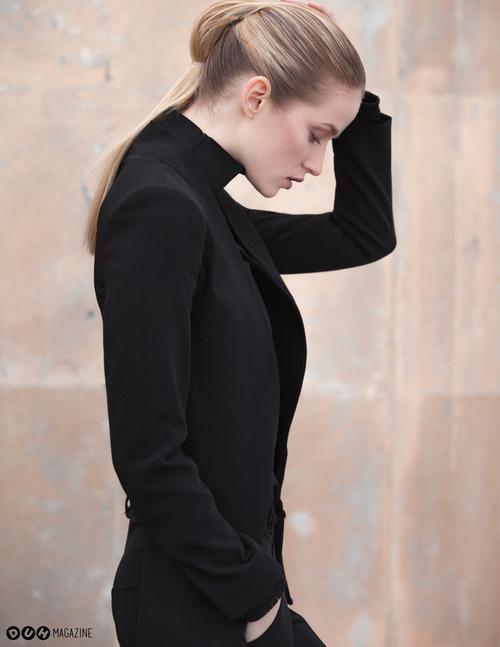 Alek Alexeyeva modeling Daniella Kallmeyer