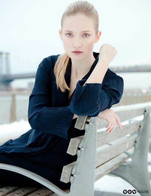 Alek Alexeyeva Magazine Styled Winter Editorial