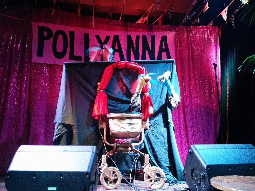 Performing at Pollyanna