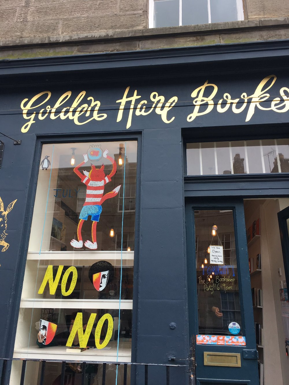 July Window 2017 at Golden Hare