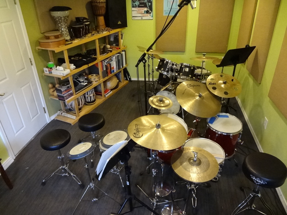 My teaching studio in Seattle, WA.