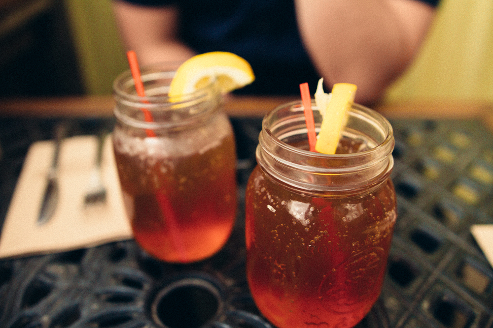 Really love their house-made sweetened Iced Tea