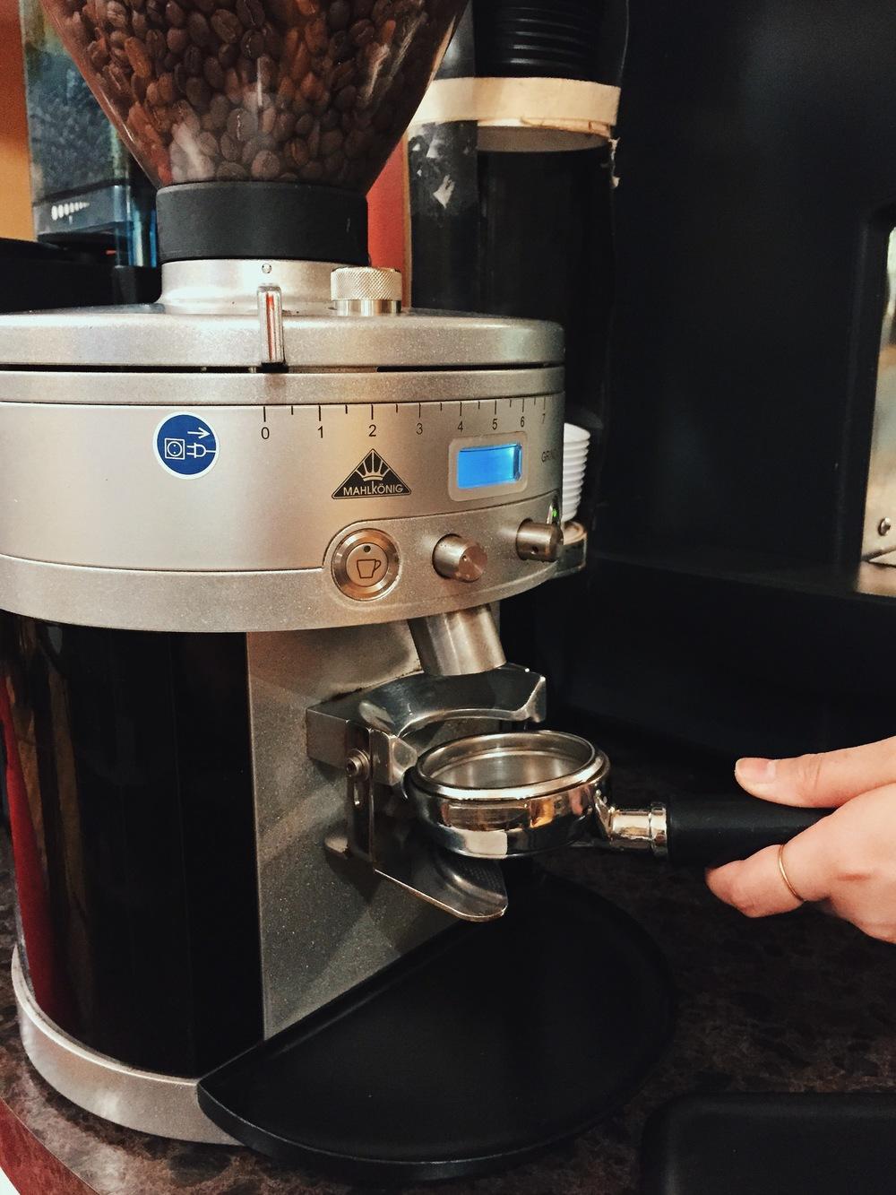 get your espresso ready