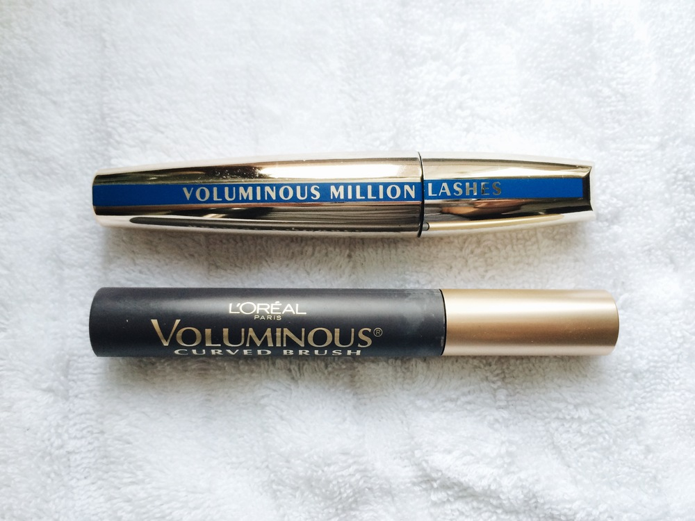Loreal MILLION LASHES (waterproof)  ||  Voluminous CURVED BRUSH