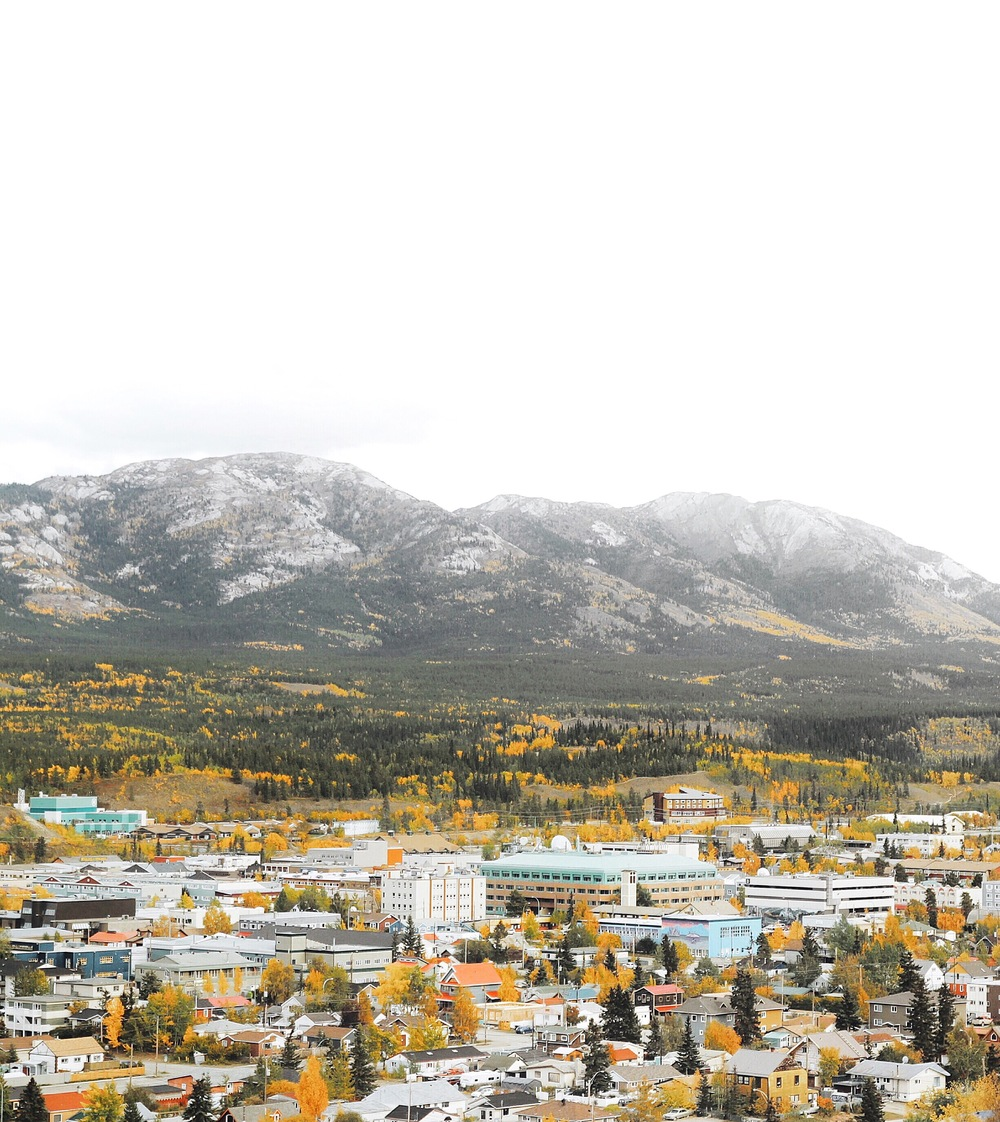 Whitehorse city and Grey Mountain | by Jorge Suarez