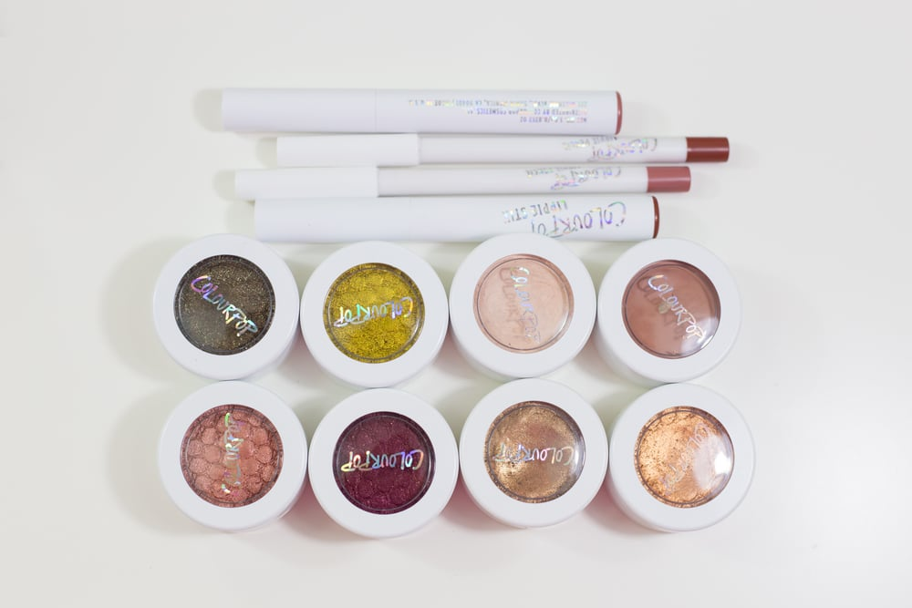 This is my Colourpop X Kathleenlights collection Not pictured: Lumiere lippie stick