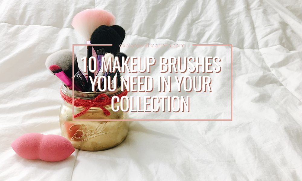 10 Makeup Brushes You Need