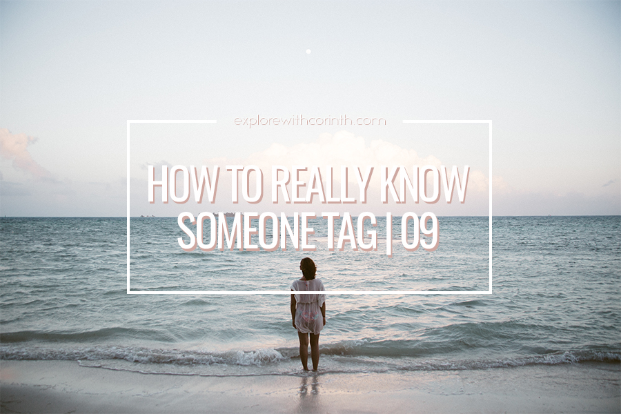 How To Really Know Someone Tag