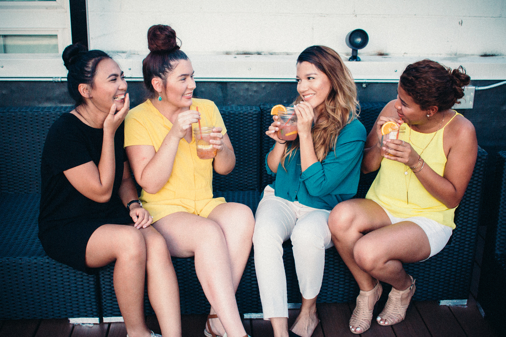Left to right: Me, Jennifer, Maria, Iliana