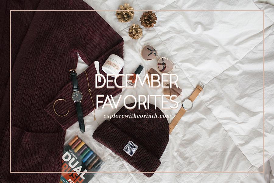 December Favorites 2016