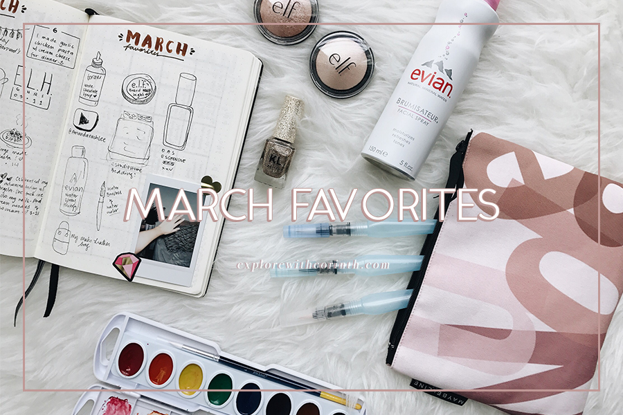Corinth's March Favorites 2017
