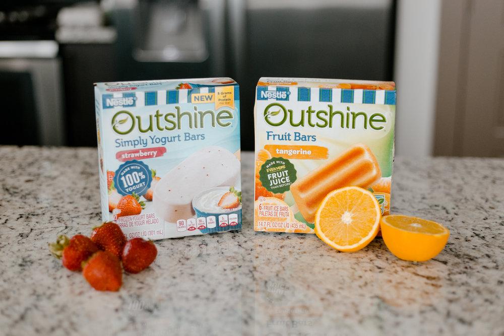 Outshine Simply Yogurt and Fruit Bars