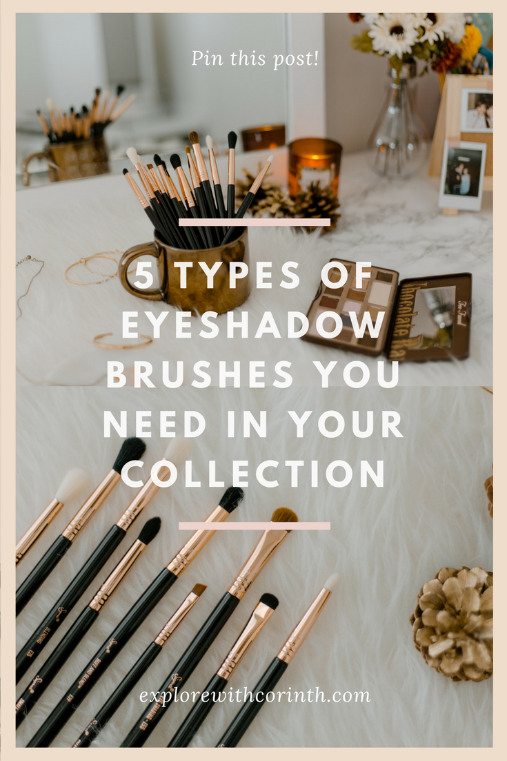 Top 5 Eyeshadow Brushes You Need