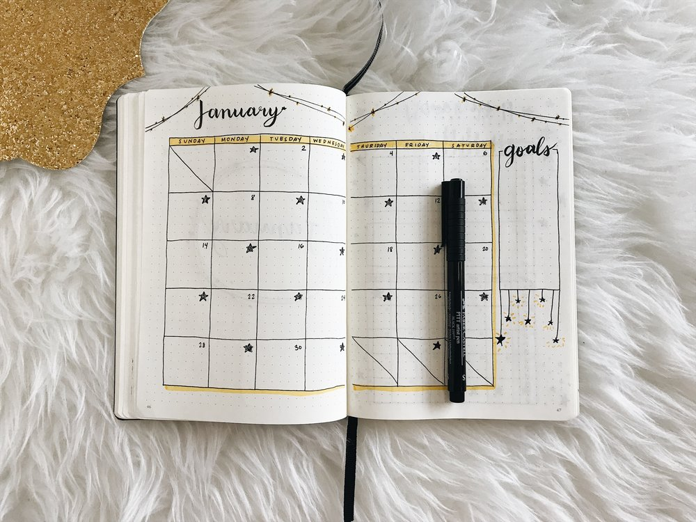January 2018 Monthly Spread