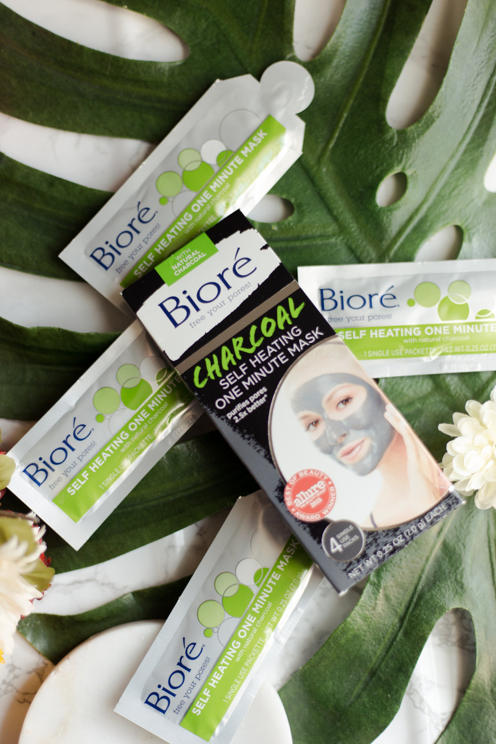 How To Keep Your Face Free of Blackheads with Bioré Self Heating One Minute Mask