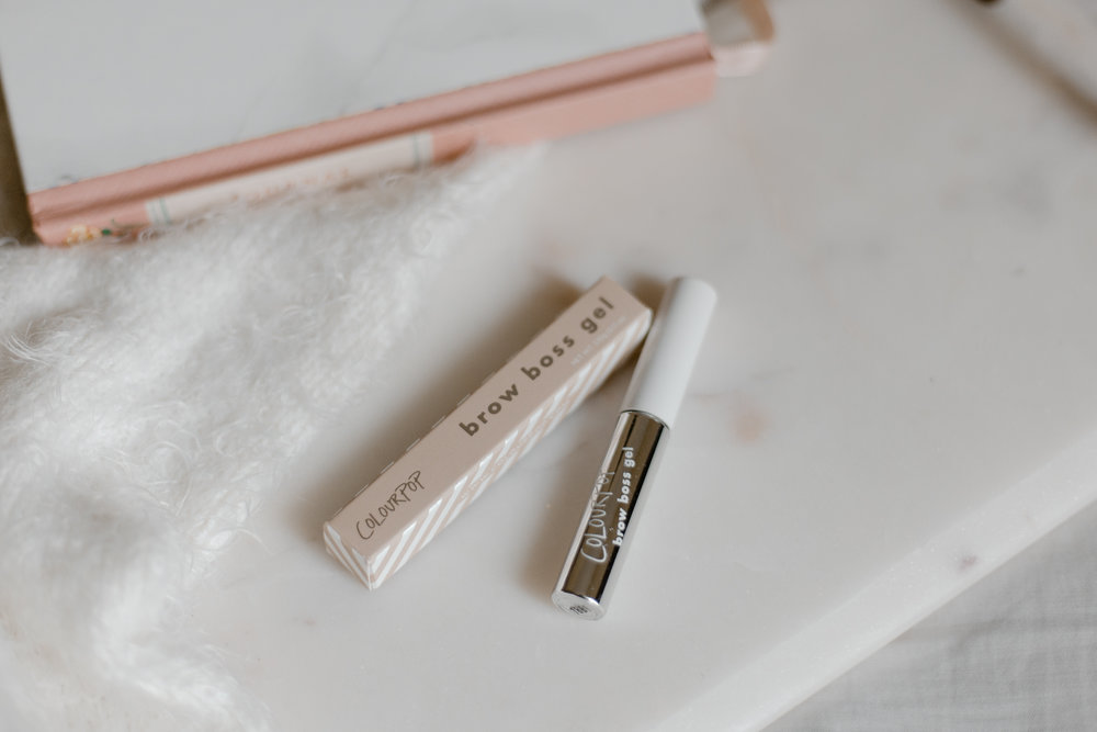 ColourPop Brow Boss Gel Review
