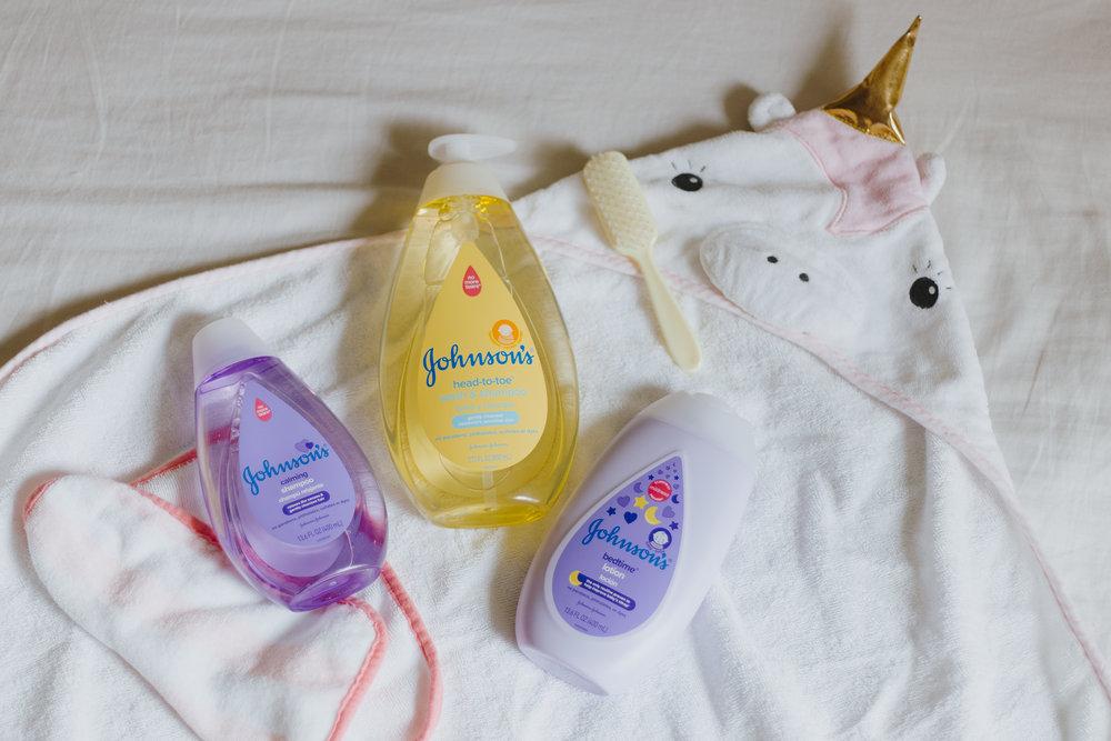 Baby Bath Time Essentials