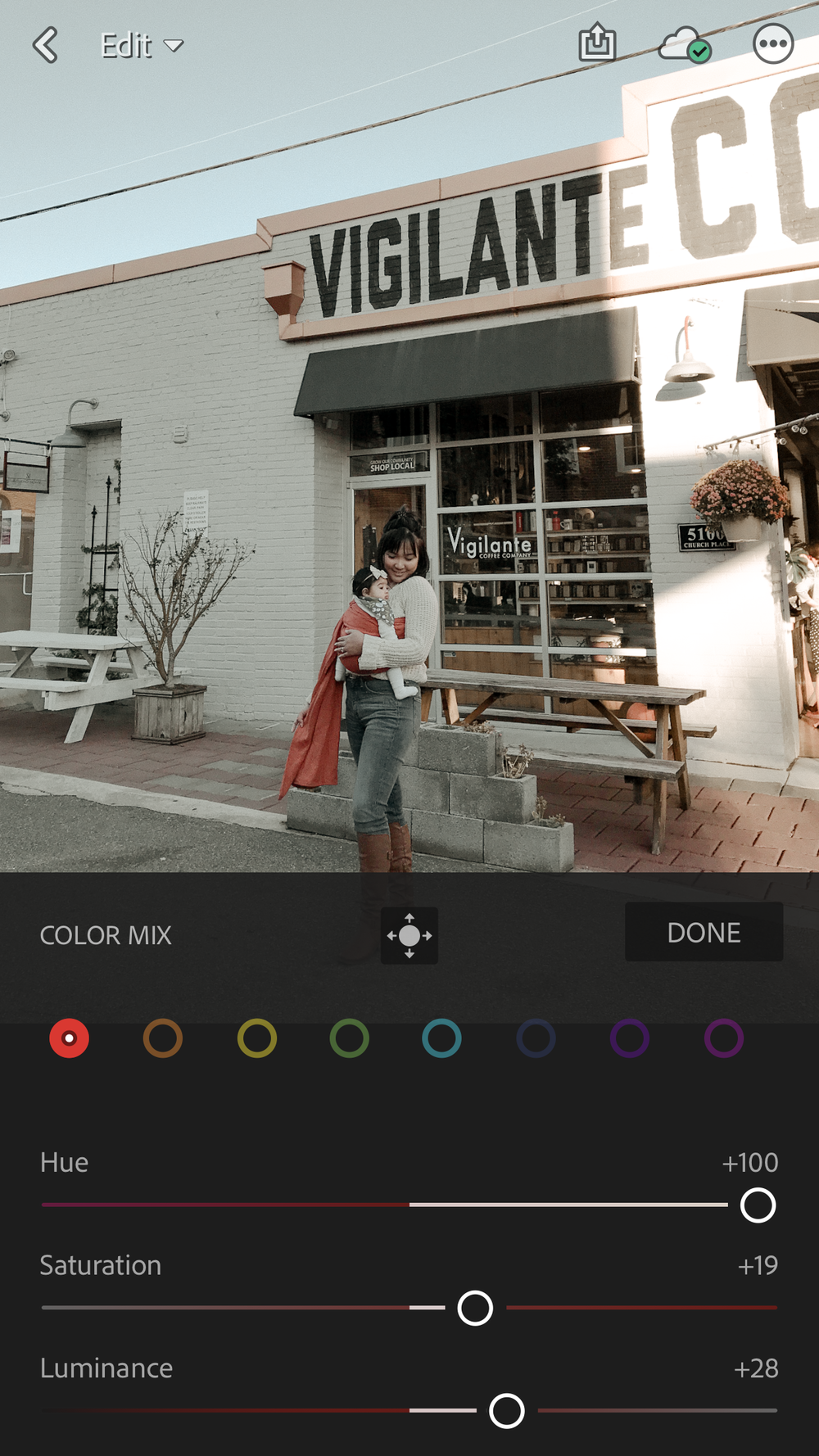 How To Use Custom Presets in the Lightroom CC App